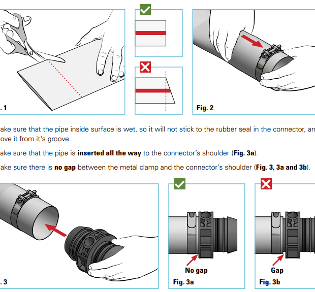 FlexNet™ Barb Connector Assembly Manual - Spanish